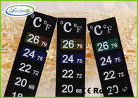 High Precision Heat Sensitive Color Changing Thermometer Strip for Measure Room Temperature