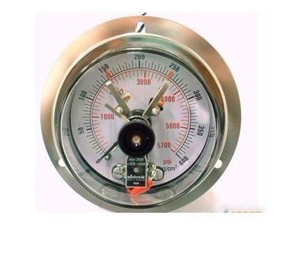 BSP ±1.6% Electric Contact Manometer Pressure Gauge