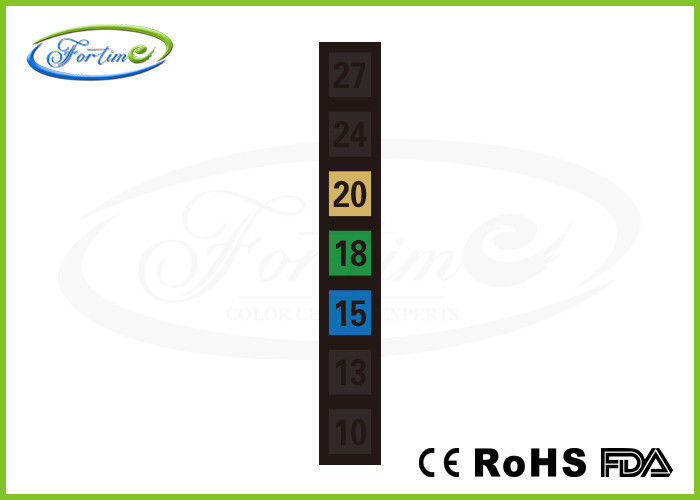 Indoor Room / Aquarium LCD Thermometer Strip for Temperature Test with Liquid Crystal